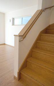 リビングの階段