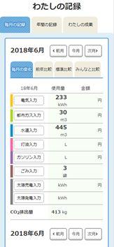 あきしま省エネ家計簿